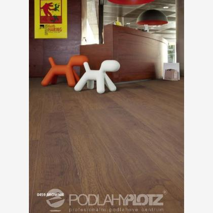 Vinylová podlaha - Gerflor Creation 55 Clic BROWNIE 0459