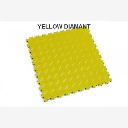 PVC dlažba Fortelock Industry yellow
